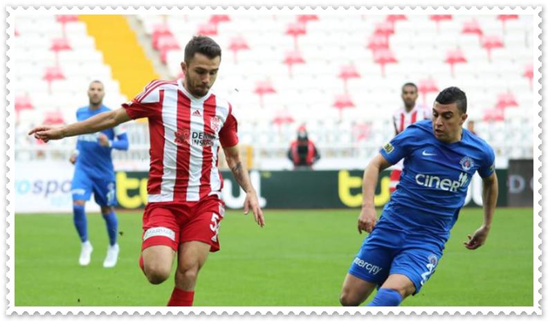 Sivasspor ile Kasımpaşa maçı