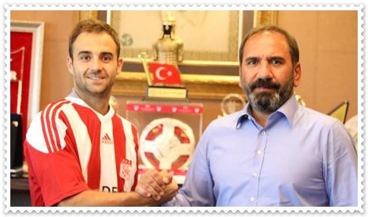 Sivassporun yeni transferi